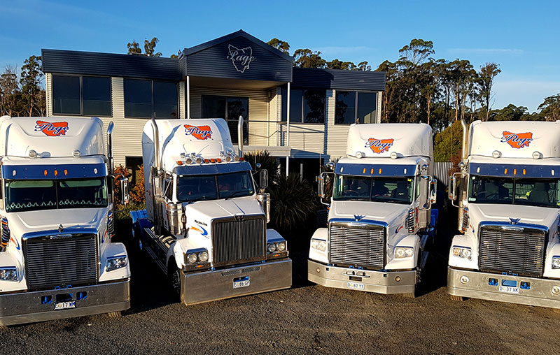 Page Transport - trucks and office Carrick